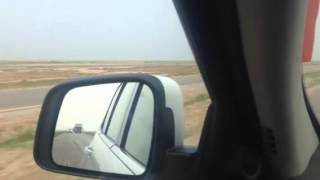 مطاردة بين الوحوش جيب گراند شيروكي 2012 & 14 امجاد العزاوي