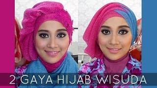 Tutorial Hijab Wisuda | 2 Hijabstyle dengan Hijab Savanna Mecca Glitty | #2