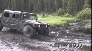 Hummer (Humvee) in Action