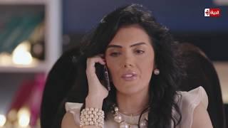 """شاهد تفاصيل تلقي """" علياء """" حورية فرغلي التهديد بقتل شقيقتها وطلب فدية - مسلسل الحالة ج"""