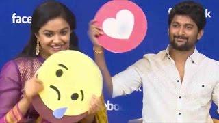 Hero Nani & Keerthi Suresh FUNNY Interview - Face Book Live -  Nenu Local Movie Interview