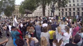 Passionate Speech by Dominic Dyer at Global March for Elephants and Rhino