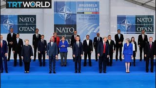 What does NATO's unified support for Turkey's fight against terrorism signify?