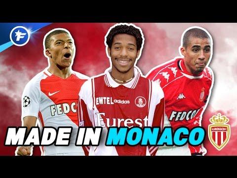 LE TOP DES JOUEURS FORMÉS À MONACO | Mbappé, Henry, Trezeguet...