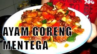 Resep Ayam Goreng Mentega - Fried Chicken with Butter Recipe