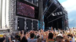 Martin Garrix - Animals (Botnek Edit) LIVE @ Weekend Festival 2014