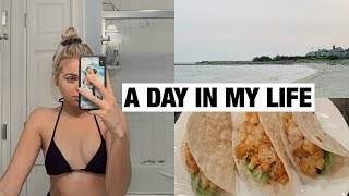 VLOG: A Day In My Life & What I'm Eating At Home!