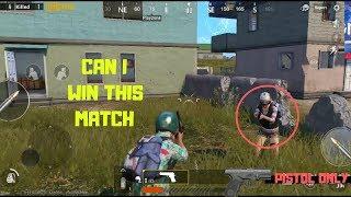 PUBG Quick Pistol Match Can I Win This Battle