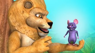 The Lion and the Mouse | Animal Stories for Kids | Infobells
