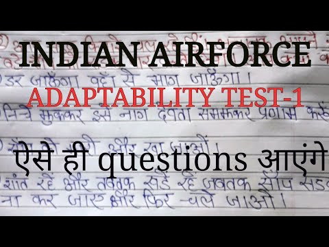 Xxx Mp4 Indian Airforce X AND Y Group Adaptability Test I Exam Practice Questions 3gp Sex