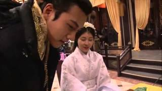 Empress Ki BTS - Writing Chinese