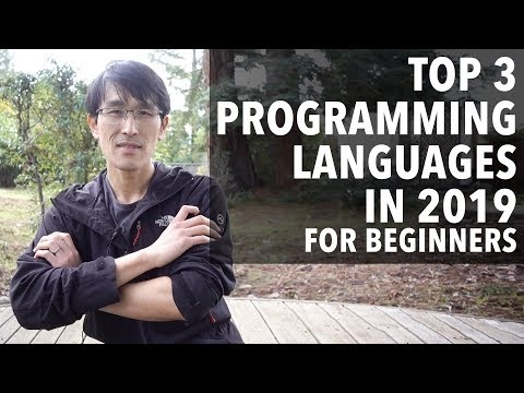 Top 3 Programming Languages in 2019 for beginners