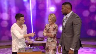 AGT winner magician Mat Franco on Live! With Kelly and Michael 09-18-14