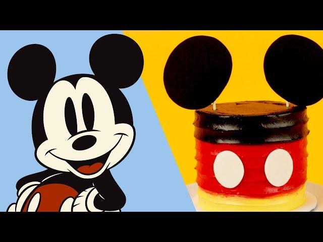 Mickey Mini Cake | Disney Family