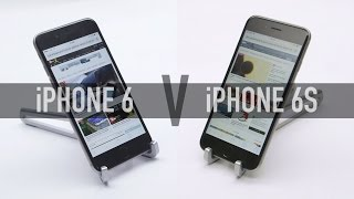 iPhone 6 Vs iPhone 6s - Speed, battery and camera test