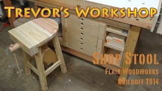 Flair Woodworks Shop Stool Buildoff