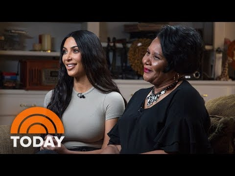 Xxx Mp4 Kim Kardashian West And Freed Inmate Alice Johnson Meet For The First Time TODAY 3gp Sex