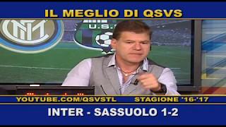QSVS - I GOL DI INTER - SASSUOLO 1-2 TELELOMBARDIA / TOP CALCIO 24