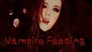 ☆★ASMR★☆ Sucking your blood | Vampire Feeding