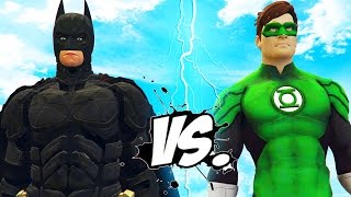 BATMAN VS GREEN LANTERN - EPIC SUPERHEROES BATTLE