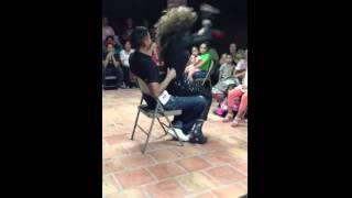 Hard lap dance