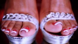 Darla TV - Foot Fetish Christmas: Toe Show For Santa