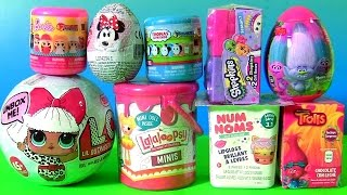 NEW Surprise Toys LOL Dolls NUM NOMS Series 3.1 Lalaloopsy Paint Can, Mashems Fashems Barbie THOMAS