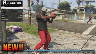 GTA 5 Rockstar Editor Tutorial - How To Use Rockstar Editor (GTA 5 Online DLC Rockstar Editor)