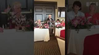 Former Alabama first lady Dianne Bentley speaks