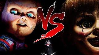 Chucky Vs Annabelle  | BATALHA SOMBRIA [RAP]