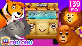 Wheels on the Bus - Wild Animals & Animal Sounds and Many more Nursery Rhymes Collection   ChuChu TV