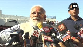 'Voter ID more powerful than terrorists' IED': PM Modi after casting vote