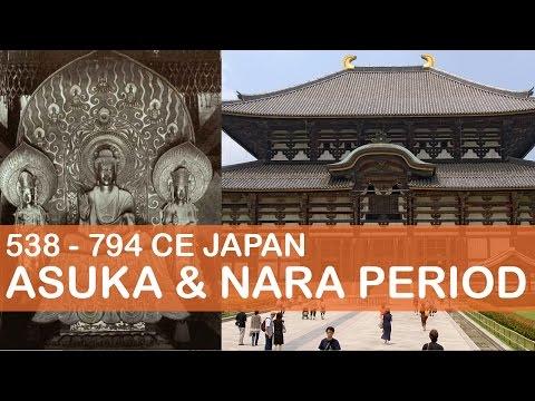 Asuka & Nara Period | Japanese Art History | Little Art Talks