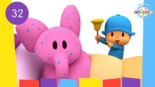 POCOYO WORLD: Elly Spots (EP32) | 30 Minutes with close caption
