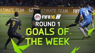 FIFA 16 - Best Goals of the Week - Round 1