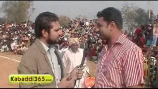 Sukhveer Sarawan On Kabaddi365.com (by Kabaddi365.com)