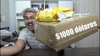 Unboxing sorpresa mas de $1000 dólares