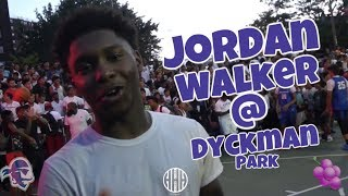 Seton Hall PG Commit Jordan Walker Brings His JELLY To Dyckman Park NYC - #JELLYFAM 🍇