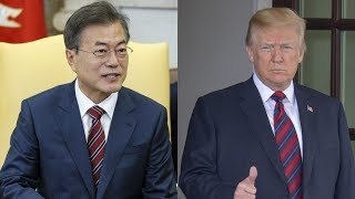 Moon embarks on US trip for summit with Trump on DPRK