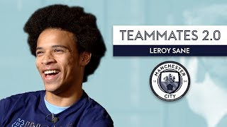 The Fastest Player at Manchester City is... | Leroy Sane | Teammates 2.0