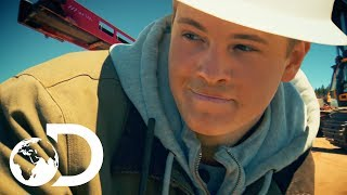 Gold Rush | SEASON 8 | Hoffman Struggles To Give Power To His Son, Hunter