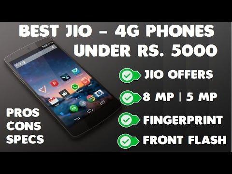Best Jio 4G VoLTE Phones Under Rs 5000 [2017]