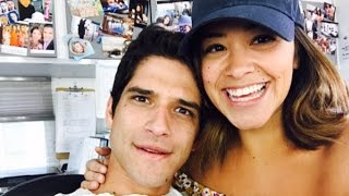 First Look at Tyler Posey on Set for Jane the Virgin Season 3 Finale
