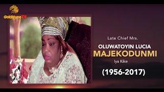 LATE ACTRESS, OLUWATOYIN MAJEKODUNMI BURIAL CEREMONY (Nigerian Music & Entertainment)
