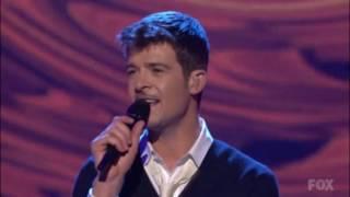 Robin Thicke: Lost Without U (American Idol)