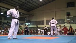 HK vs Iran.James kouame,kyokushin karate .