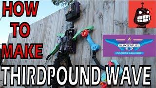 Stupid Robot Fighting League - Making ThirdPound Wave - BurgerFuel