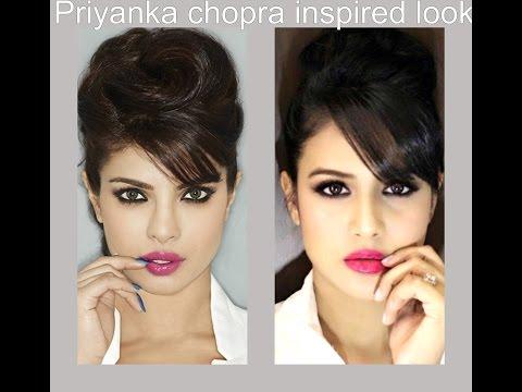 priyaka chopra inspired look