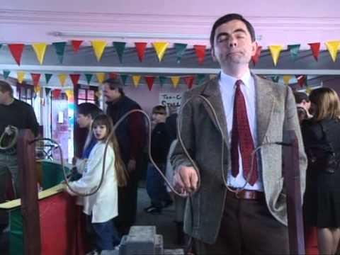 Mr.Bean in a barber shop