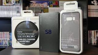SAMSUNG GALAXY S8   UNBOXING & SETUP!